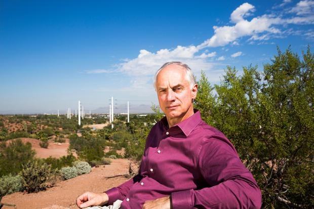 Blue sky thinking: Prof Klaus Lackner, director of Arizona State University's Centre for Negative Carbon Emissions. Photo: Arizona State University