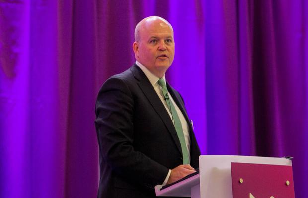 Approval: Colin Hunt, chief executive of AIB, praised the bank's 'solid profitability, strong new lending and continued performing loan book growth'