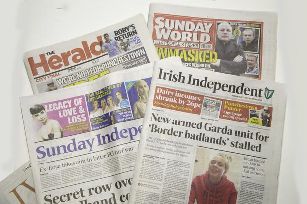Among the titles published by INM in Ireland are the Herald, Sunday World, the Irish Independent and the Sunday Independent