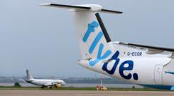 Connect Airways paid just £2.2m (€2.6m) for Flybe this year. Photo: PA