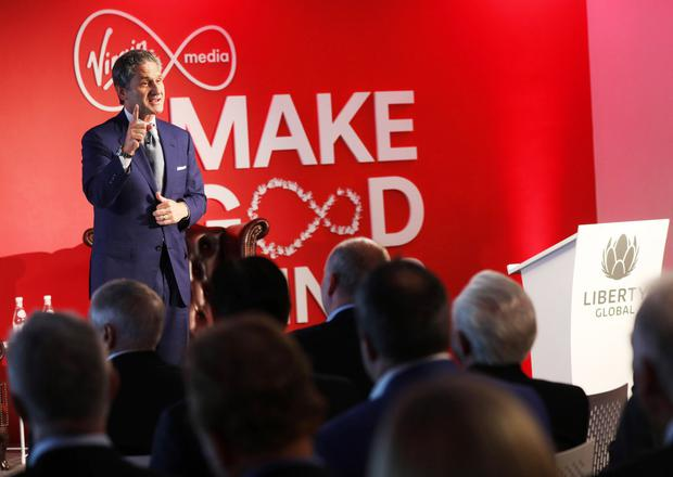 Confident: Vodafone CEO Mike Fries says the Liberty Global deal is on track