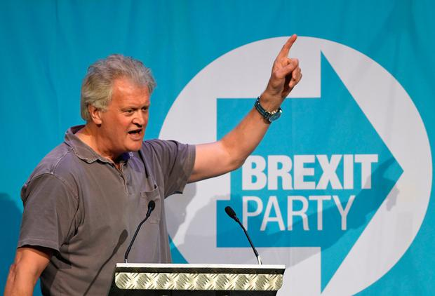 Wetherspoon chairman and Brexit supporter, Tim Martin. Photo: PA
