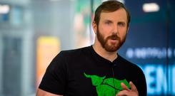 Ethan Brown, founder and chief executive officer of Beyond Meat. Photo: Bloomberg