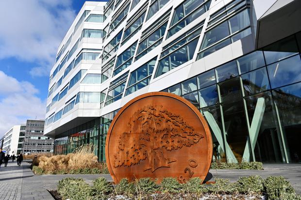 Troubled: As well as being hit by money-laundering woes, Swedbank has lost a quarter of its value. Photo: Bloomberg