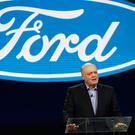 Cuts: Ford CEO Jim Hackett said the company must reduce bureaucracy, and empower managers. Photo: AP