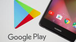 Play time: Google's Android operating system has been used by Huawei and other Chinese brands and Huawei has replaced its own app store with Google Play on overseas models. Photo: REUTERS