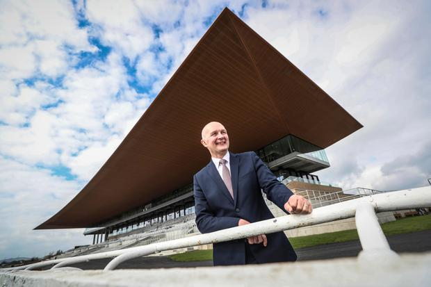 Safe bet: Former European Rugby Cup boss Derek McGrath says the Curragh revamp delivers 'very good value' on the public money invested