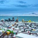 Tourist boom: Cash spent by visitors to Icelandic capital Reykjavik and beyond helped the nation recover after the financial crash