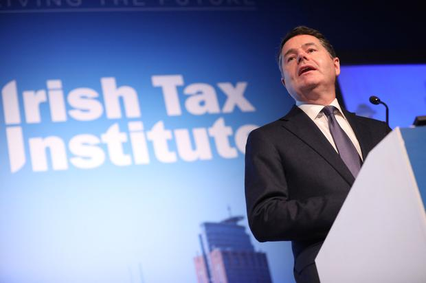 Taxing times: Paschal Donohoe