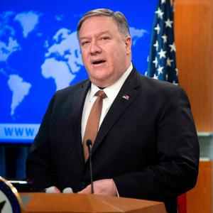 US Secretary of State Mike Pompeo. Photo: AFP/Getty Images
