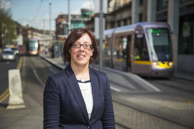 Anne Graham, CEO of the National Transport Authority. Photo: Colin O'Riordan