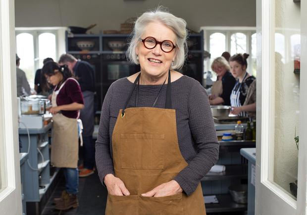 Stirring story: Owner Darina Allen has been running the well-known cookery school since 1983. Photo: INM