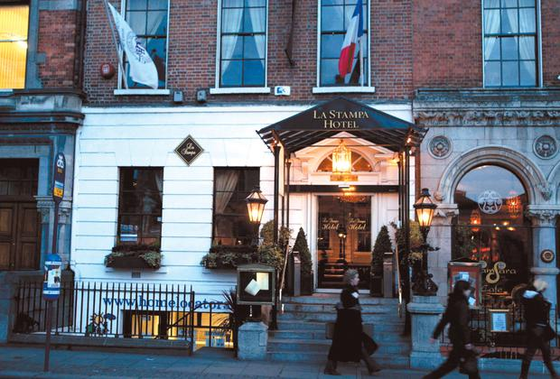 Sold off: the La Stampa restaurant on Dublin's Dawson Street which Louis Murray says was undervalued