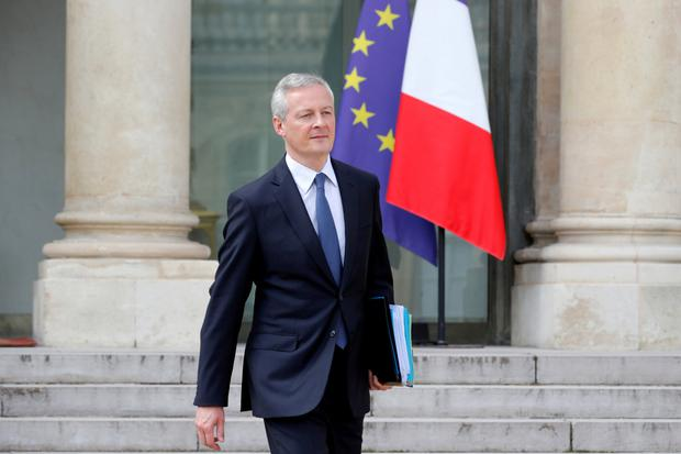 Blessing: French finance minister Bruno Le Maire said the plan was a good opportunity for both Renault and the European car industry. Photo: REUTERS