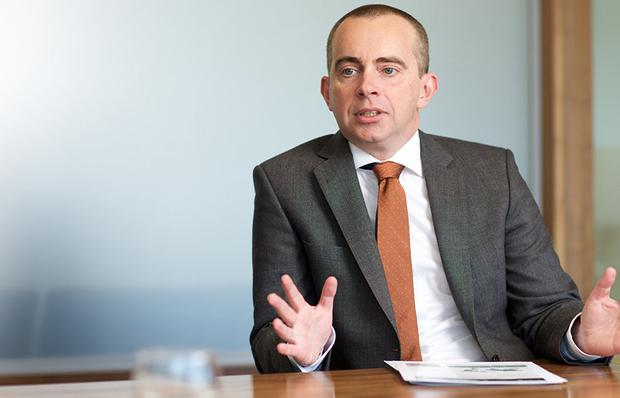 Upside: Martin Lally, managing director of Key Capital's investment management arm, said he expected the first private equity fund raised by the firm to end up with a net of 2.3 times or 2.35 times return. Photo: Patrick Bolger
