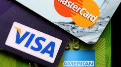 Where most of us may have one, Zamira had no fewer than 54 credit cards. Stock Image