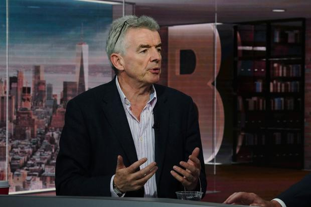Ryanair chief executive Michael O'Leary. Photo: Christopher Goodney/Bloomberg