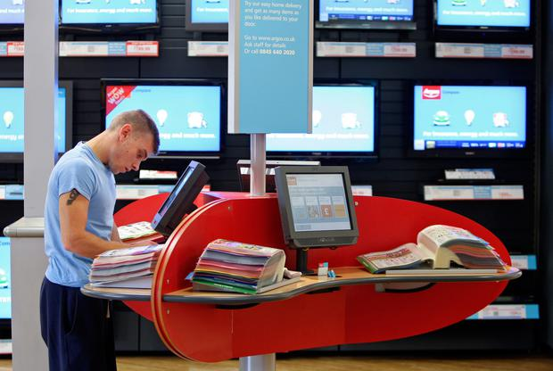 Leaner: Argos director point to efficiencies as store chain's pre-tax profits rise by 57pc