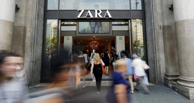 Zara owner Inditex bounced back from a weak start to 2019. Stock photo: Reuters