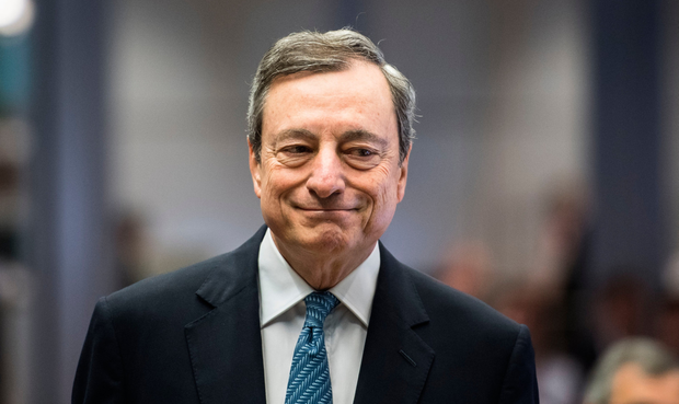 Mario Draghi heads his last retreat as ECB President. Photo: Bloomberg
