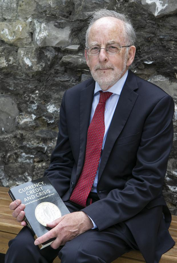 Launch: Prof Patrick Honohan with his new book 'Currency, Credit and Crisis: Central Banking in Ireland and Europe'
