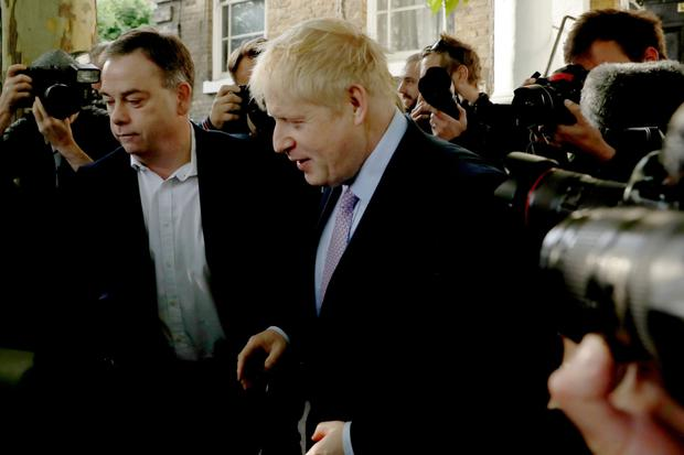 Second round: Boris Johnson remains favourite to succeed Theresa May. Photo: AP