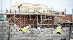 Supply and demand: More homes were built in the year to March 2019 than were sold. Photo: PA