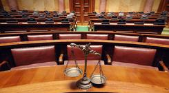 'The law concerning perjury has been ignored for too long' Stock Image