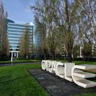 Software company Oracle's headquarters in Redwood City, California