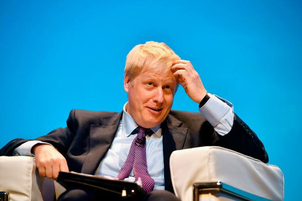 Favourite: The chances of no deal would rise under Boris Johnston