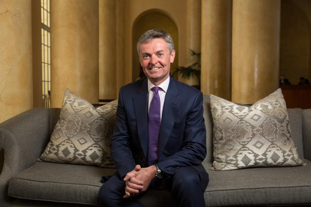 Tullow Oil CEO Paul McDade. Photo: Bloomberg