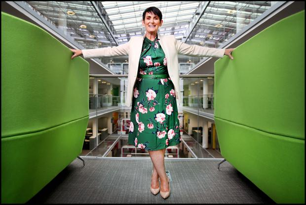 Eir chief executive Carolan Lennon. Photo: Steve Humphreys