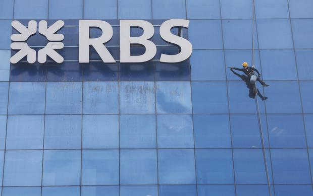Employer: Mr Walsh lost his job at RBS over the investment