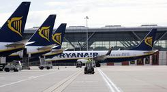 Short position: Shares in Ryanair are being targeted by US hedge fund Citadel. Photo: Bloomberg