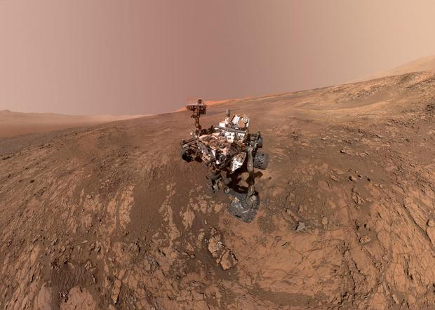 Nasa's Mars Rover was worked on by Conor McGann