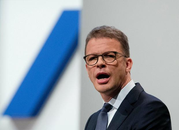 Overhaul: Deutsche Bank CEO Christian Sewing is aiming to 'reinvent' the business. Photo: AP