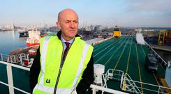 Capital programme: Dublin Port Company CEO Eamonn O'Reilly