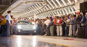 Volkswagen rolled the last Beetle off the assembly line yesterday. Photo: Bloomberg