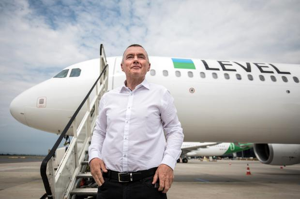 Unhappy: Willie Walsh says that the 737 Max will inspire confidence on its return to service. Below, with Boeing CEO Kevin McAllister at the Paris Air Show