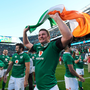 Ireland's victory over the All Blacks in Chicago was one of RTÉ2's most-watched shows last year. Photo: Brendan Moran/Sportsfile