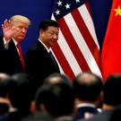 Tariffs: President Trump with China's Xi Jinping