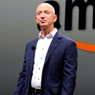 Amazon founder Jeff Bezos. Photo: Joe Klamar