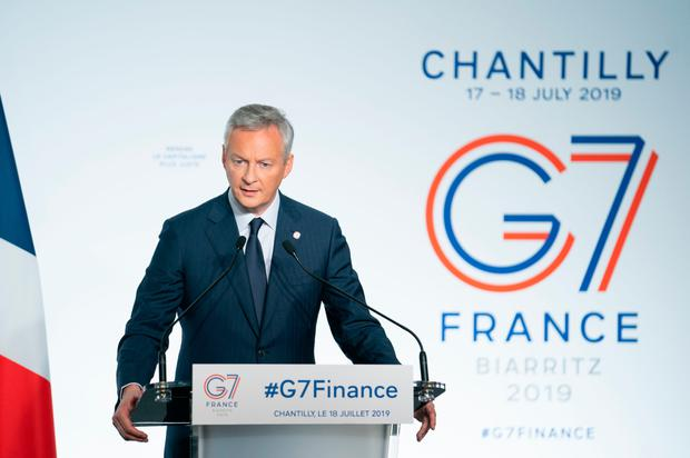 Opposition: French finance minister Bruno Le Maire. Photo: Bloomberg