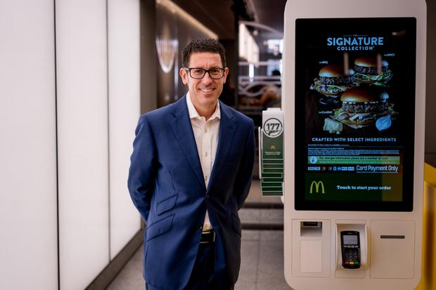 That's a wrap: McDonald's UK & Ireland CEO, Paul Pomroy