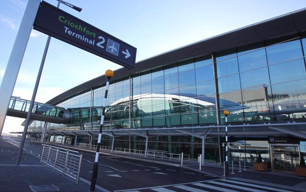Dublin Airport is considering a drop in charges. Photo: PETER MUHLY/AFP/Getty Images