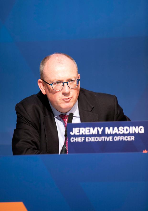 Jeremy Masding has acquired shares in Permanent TSB