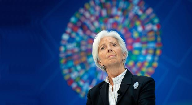 Former IMF managing director Christine Lagarde is replacing Mario Draghi at the European Central Bank. Photo: SAUL LOEB/AFP/Getty Images