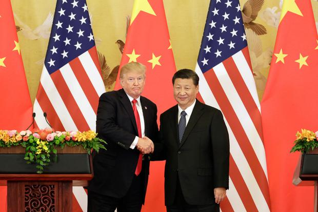 Trade war: US president Donald Trump, left, and his Chinese counterpart Xi Jinping Photo: Bloomberg