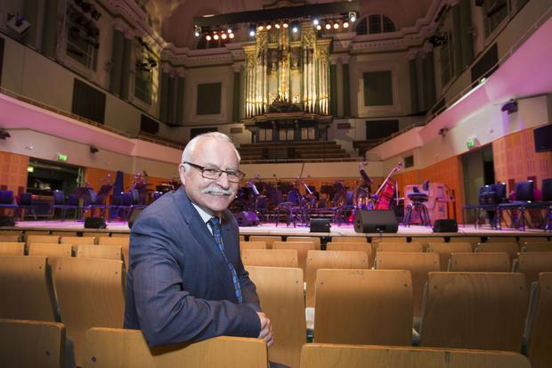 'You are constantly weighing up the commercial side with your remit as a national concert institution': Simon Taylor, CEO of the National Concert Hall. Photo: Colin O'Riordan