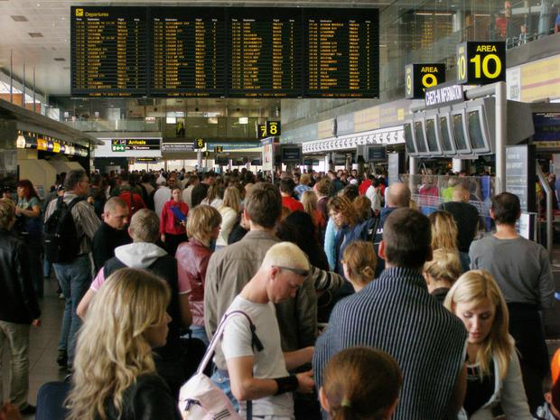 Dublin Airport fees have become a hot topic. Photo: Bloomberg
